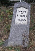 Image for Milestone - Redbourn Road, St Albans, Hertfordshire, UK.