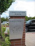 """Image for Constitution Plaza """"You are here"""" - Millbrae, CA"""