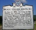Image for Bragg Invades Kentucky ~ 2B 24