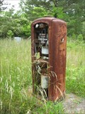Image for Vintage Gas Pump  -  Allsboro, Alabama