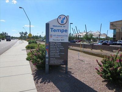 Tempe Sister Cities Tempe Arizona Sister City Monuments On