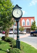 Image for Town Square Clock - Ellijay Ga