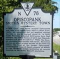Image for Opiscopank Smith's Mystery Town - Urbanna, VA