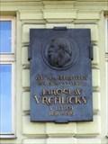 Image for Jaroslav Vrchlický & 6086 Vrchlicky Asteroid - Prague, Czech Republic