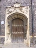 Image for Medieval Guildhall - Portal - Norwich, Norfolk, Great Britain.