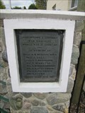 Image for Arrowtown Pool World War II Memorial Plaque - Arrowtown, New Zealand