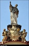 Image for St. Benedict -  Entrance gate of the Brevnov Archabbey / Sv. Benedikt - Vstupní brána Brevnovského arciopatství (Prague)