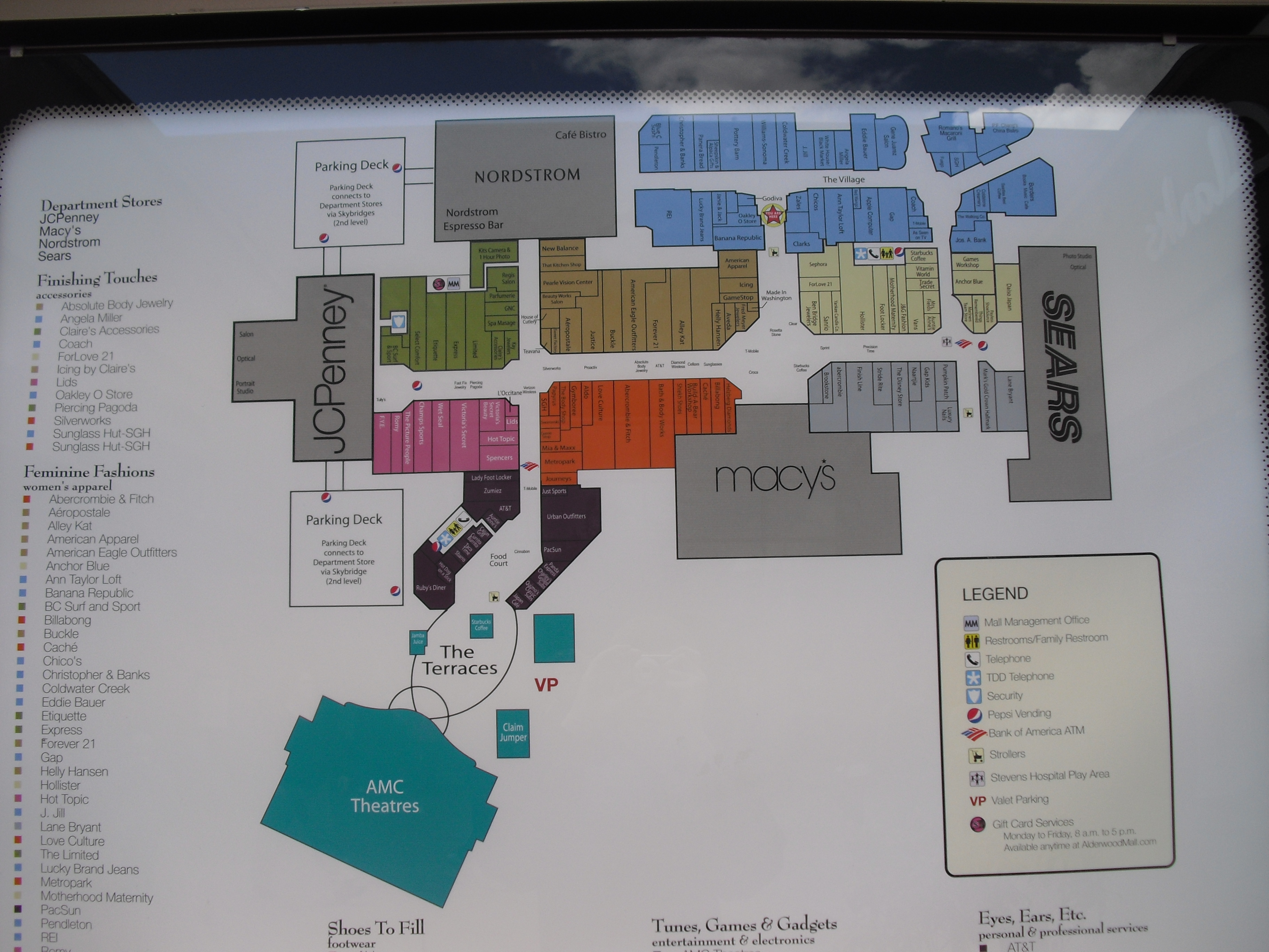 Fox River Mall Map | compressportnederland