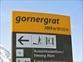 Image for Elevation Signs - Gornergrat - Switzerland.3089m