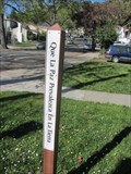 Image for Sheffield Village Peace Pole - Oakland, CA