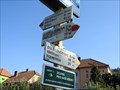 Image for Direction and Distance Arrow - Dolní Loucky, Czech Republic