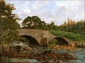 Image for Old Skelwith Bridge, Ambleside by Sir Cuthbert Cartwright Grundy – Bridge, Skelwith, Cumbria, UK