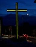 Image for Illuminated christian cross - Buchholz (Nordheide), Germany