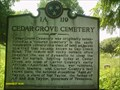 Image for Cedar Grove Cemetery - 1A 119 - Elizabethton, TN
