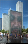 Image for Crown Fountain - Chicago, Illinois