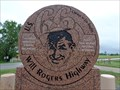 Image for Will Rogers Highway - Route 66 Monument - Afton, Oklahoma, USA