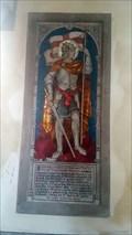 Image for Capt. Norman Charles Henry Macdonald Moreton mosaic - St Mary - Iwerne Minster, Dorset
