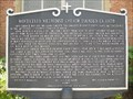 Image for Monticello Methodist Church Historical Marker - Monticello, FL