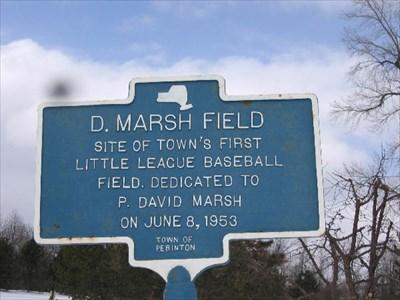 D. Marsh Field - New York Historical Markers on Waymarking.com