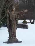 Image for Jesus Christ - Arbor Crest Cemetery - Ann Arbor, Michigan