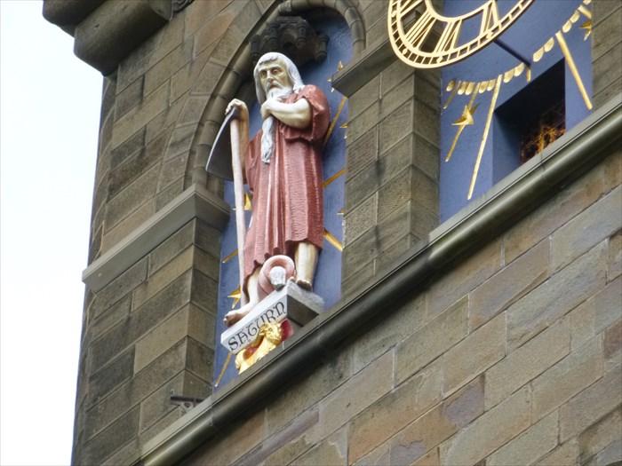 Saturn Roman God Cardiff Wales