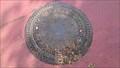 Image for Manhole cover and trigonometric point Basis Bonn A, Kölnstraße, Bonn, NRW, Germany