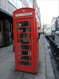 Image for Red Telephone Box - Bruton Street, London, UK