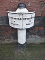 Image for King Street Mile Post - Longton, Stoke-on-Trent, Staffordshire.