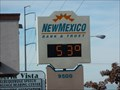Image for Bank Time and Temperature Sign - Albuquerque, New Mexico