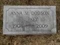 Image for 105 - Anna M. Burkey - Sarcoxie, MO USA