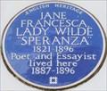 """Image for Jane Francesca, Lady Wilde """"Speranza"""" - Oakley Street, Chelsea, London, UK"""