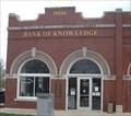 Image for Bank of Knowledge - 1906 - Edgerton, Kansas