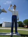 Image for Glenn Goode's Hatless Muffler Man - Gainesville, TX