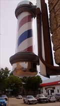 Image for Abbott Brothers Barber Shop Pole - Sparta, WI, USA