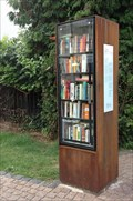 Image for Open Library in the parc: Bookcrossing Zone Frongasse (Bücherschrank)