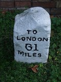 Image for Milestone - Ermine Street, Great Stukeley, Cambridgeshire, UK