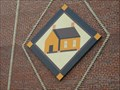 Image for School House quilt square on Nathanael Greene Museum - Greeneville, TN