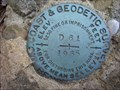 Image for USCGS Bronze disk (D-61) SE of Linesville, PA