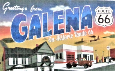 Greetings from Galena - Route 66 - Kansas