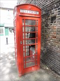 Image for Red Telephone Box - Station Approach, Old Bexley, London, UK