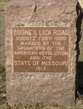Image for Boone's Lick Road - Kountz Fort (1800) - St. Peter's, MO