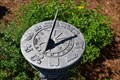 Image for Kershaw First Library Sundial - Kershaw, SC, USA