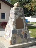 Image for Cremona Legion Cairn - Cremona, Alberta