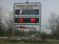 Image for Local 136 Time/Temp sign - Evansville, IN