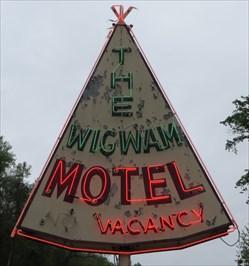 Wigwam Motel - Cherokee, NC.