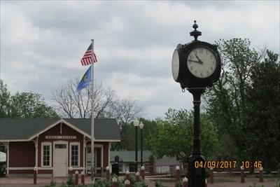 Waymark Code: WM8T4N, Oklahoma Centennial Clock - Pauls Valley, Oklahoma - Community Commemoration on Waymarking.com