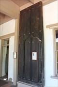 Image for Original Doors -- Mission San Gabriel Archangel, San Gabriel CA