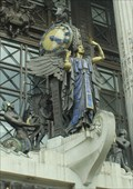"""Image for The """"Queen of Time"""" Clock -- Oxford Street, Westminster, UK"""