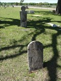 Image for FIRST Recorded Burial in White Rock Cemetery - Ross, TX
