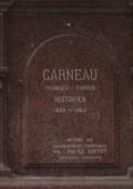 Image for Plaque du monument de François-Xavier Garneau - Québec, Québec